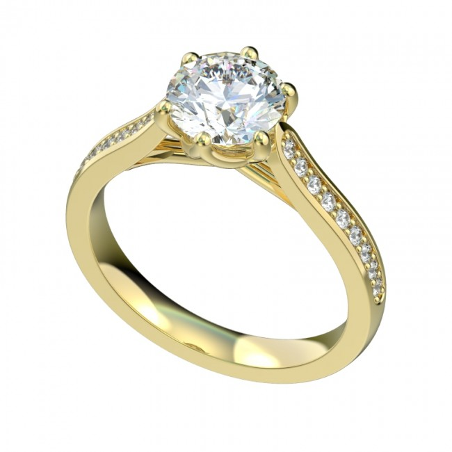 R1148 Engagement Rings Private Label Collection