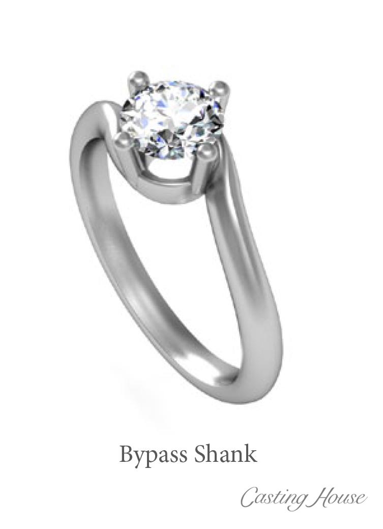 bypass ring shank design